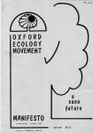 Oxford Ecology Movement 1978 Manifesto Draft 2 Oct