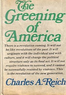 Cover of The Greening of America