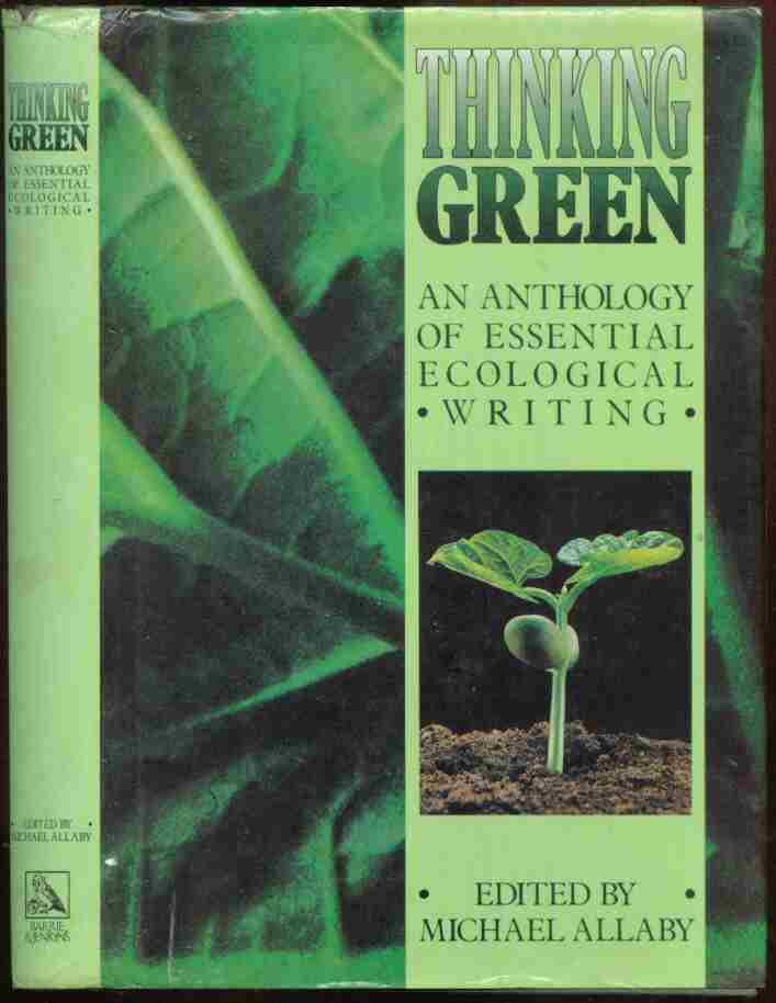 Cover of Thinking Green